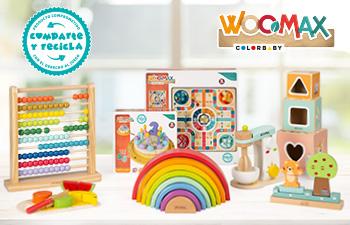 WOOMAX, primera marca con el sello Comparte y Recicla