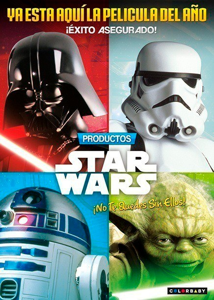 COLORBABY STAR WARS