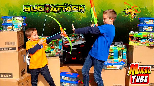 Bug Attack & Mikeltube Wars ¡una nueva alianza!