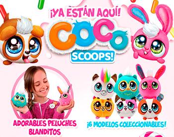 Ya están aqui los Coco Scoops!
