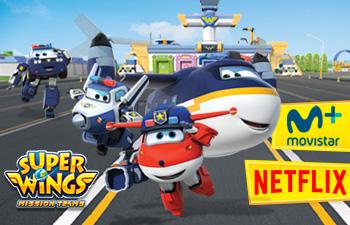Netflix mantiene en vuelo a los Super Wings y Movistar+ incorpora la serie de la mano de Canal Panda