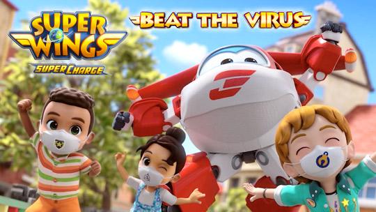Los Super Wings enseñan a los niños cómo luchar contra el virus