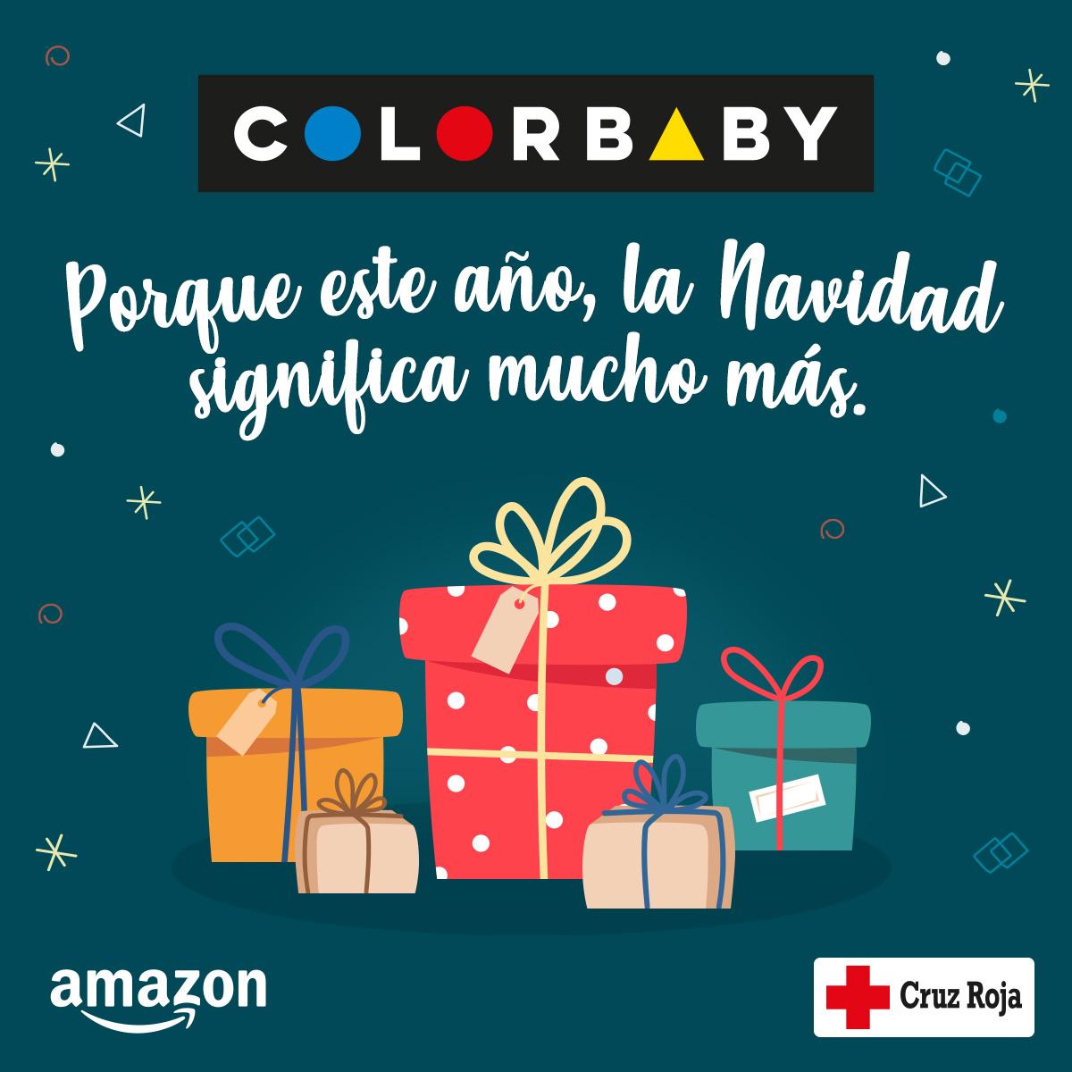 COLORBABY colabora con Cruz Roja para mantener la ilusión en Navidad